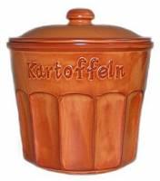 Pojemnik ceramiczny do przechowywania ziemniaków